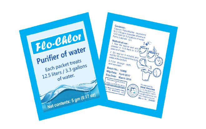 Water Purification Powder