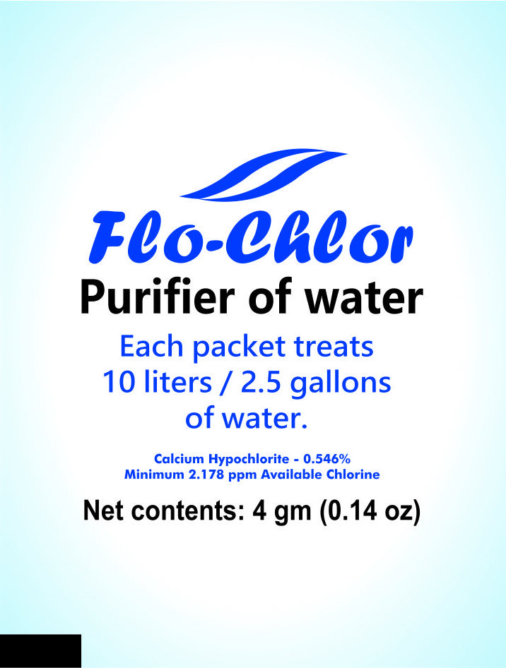 Flo-Chlor Flocculation Disinfection Powder 4gm